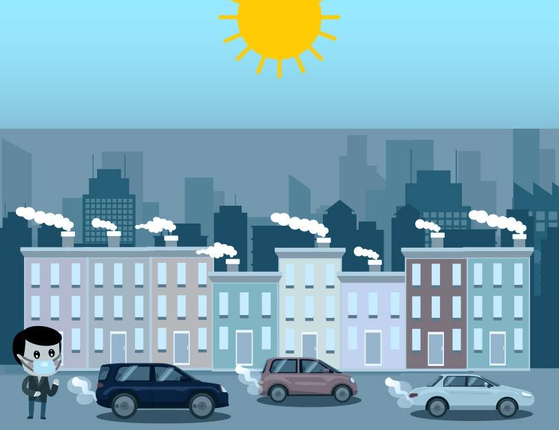 Powstawanie smogu