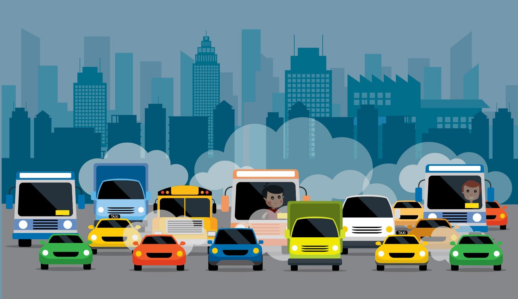 Ograniczenie spalin transportowych